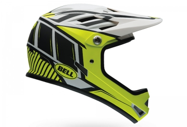 casque integral bell sanction jaune