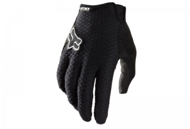 fox paire de gants attack noir