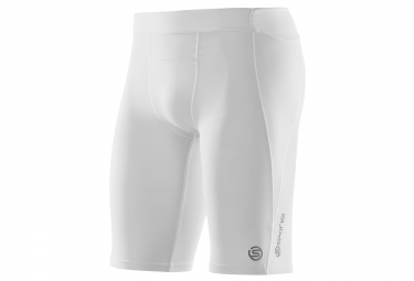 cuissard de compression skins a400 homme blanc