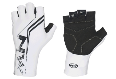 northwave gants courts extreme graphic blanc