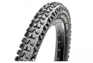 maxxis pneu minion dhf 27 5x2 5 dual exo tubeless ready kv tb85975000 souple