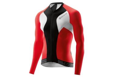 maillot de compression skins cycle tremola due homme noir rouge