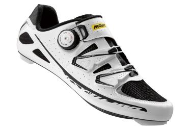mavic 2016 paire de chaussures route ksyrium ultimate blanc noir