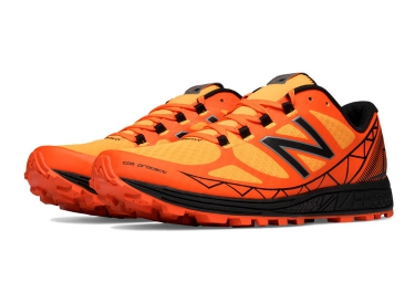 new balance chaussures trail mt summit orange noir