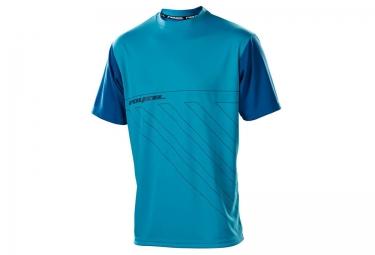 royal maillot manches courtes altitude bleu