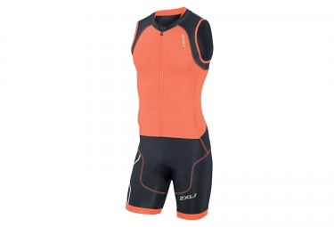 2xu combinaison tri fonctions de compression trisuit orange