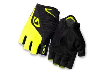 giro paire de gants bravo gel jaune noir