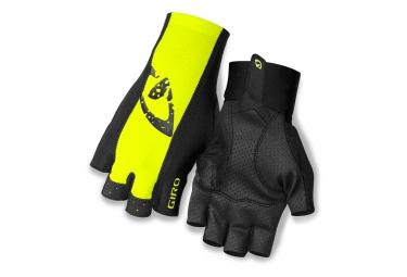 giro paire de gants ltz ii jaune noir