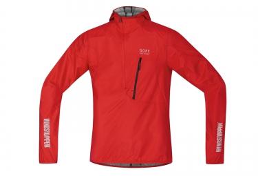 gore bike wear veste rescue windstopper active shell rouge