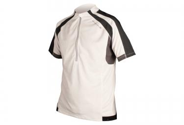maillot manches courtes endura hummvee blanc