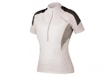 maillot manches courtes femme endura hummvee lite blanc