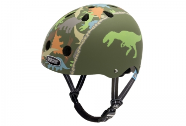 casque bol enfant nutcase little nutty vert multi couleur