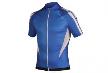 maillot manches courtes endura fs260 pro bleu