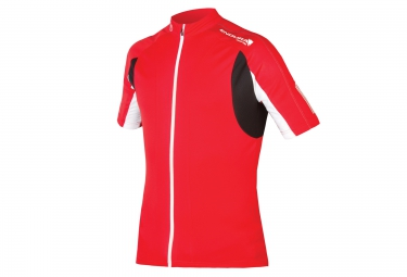 maillot manches courtes endura fs260 pro ii rouge