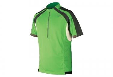 maillot manches courtes endura hummvee vert