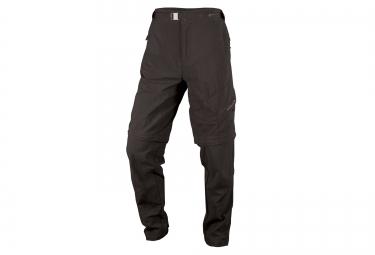 pantalon endura hummvee zip off noir