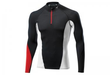 mizuno maillot virtual body g1 noir rouge homme