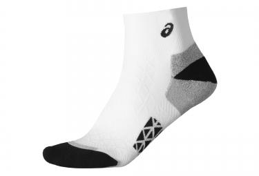 paire de chaussettes asics marathon racer blanc