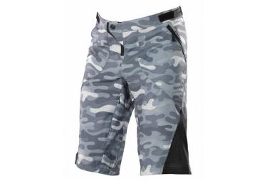 troy lee designs short ruckus gris camouflage