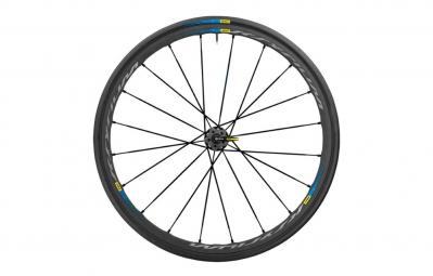 roue arriere mavic ksyrium pro exalith haute route 2016 noir bleu pneu yksion pro 25