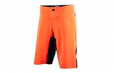 fox short attack q4 orange noir