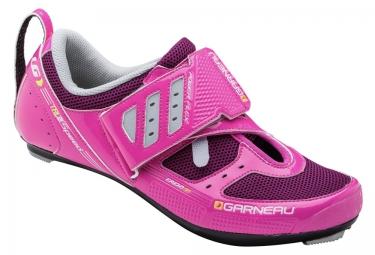 chaussures triathlon femme louis garneau tri x speed ii 2016 rose