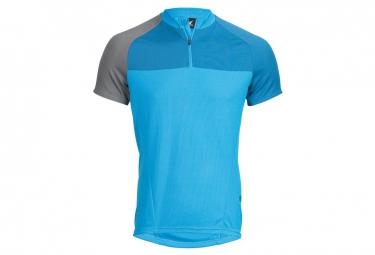 maillot manches courte haibike xduro bleu