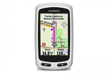 garmin gps edge touring blanc