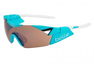 lunette cyclisme bolle 6th sense s bleu blanc rose