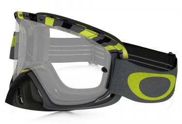 masque oakley o2 mx gris transparent ref oo7068 03