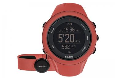 suunto montre gps ambit3 sport hr coral ceinture cardiaque smart sensor