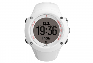 suunto montre gps ambit3 run blanc