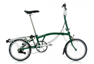 velo pliant brompton m6r 6 vitesses vert