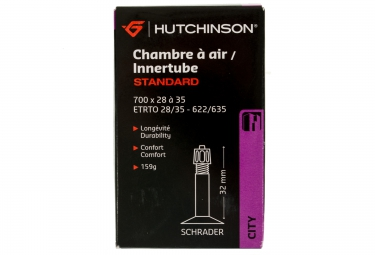 hutchinson chambre a air 700x28 35 valve schrader