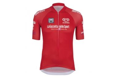 maillot manches courtes santini giro d italia 2016 sprint rouge