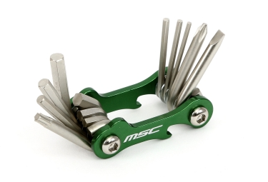 multi outils msc 10 fonctions vert