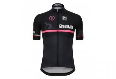 maillot manches courtes santini giro 2016 fashion the line event noir rose