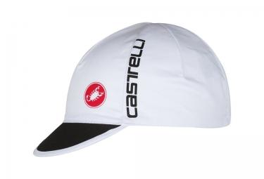 casquette castelli free blanc
