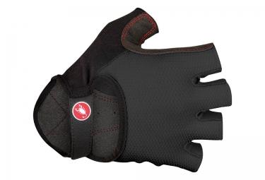 gants courts castelli pista noir