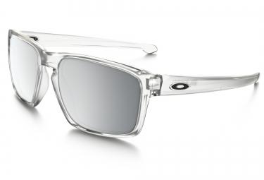 lunettes oakley sliver transparent chrome iridium ref oo9262 23