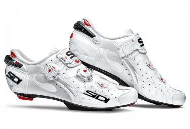chaussures route sidi wire carbon 2015 blanc verni