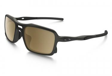 lunettes oakley triggerman noir marron iridium polarise ref oo9266 05 9bddf4313cb8