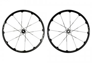 paire de roues crankbrothers opium dh 27 5 av 20mm ar 12x150mm noir