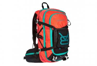 sac a dos v8 equipement frd 20 1 noir orange