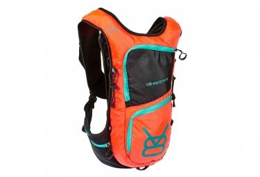 sac a dos v8 equipement rac 6 2 1 5l noir orange
