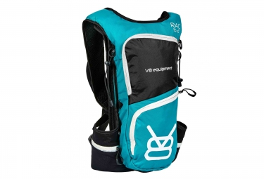 sac a dos v8 equipement rac 6 2 1 5l noir turquoise