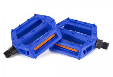 pedales plates salt jr 9 16 bleu