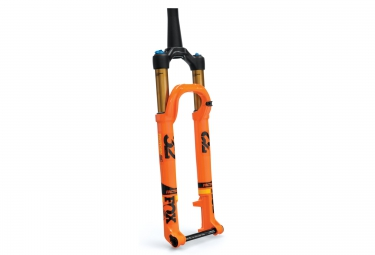 fourche fox racing shox 32 float sc factory fit4 29 kabolt 15mm 2017 orange