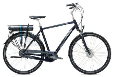 velo ville electrique trek lm400 2016 shimano nexus 7 vitesses bleu