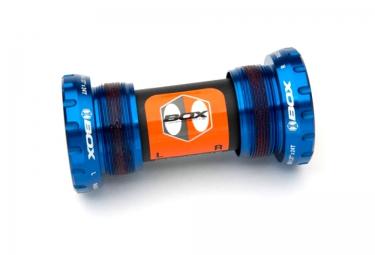 boitier de pedalier box extremum axe 24mm bleu